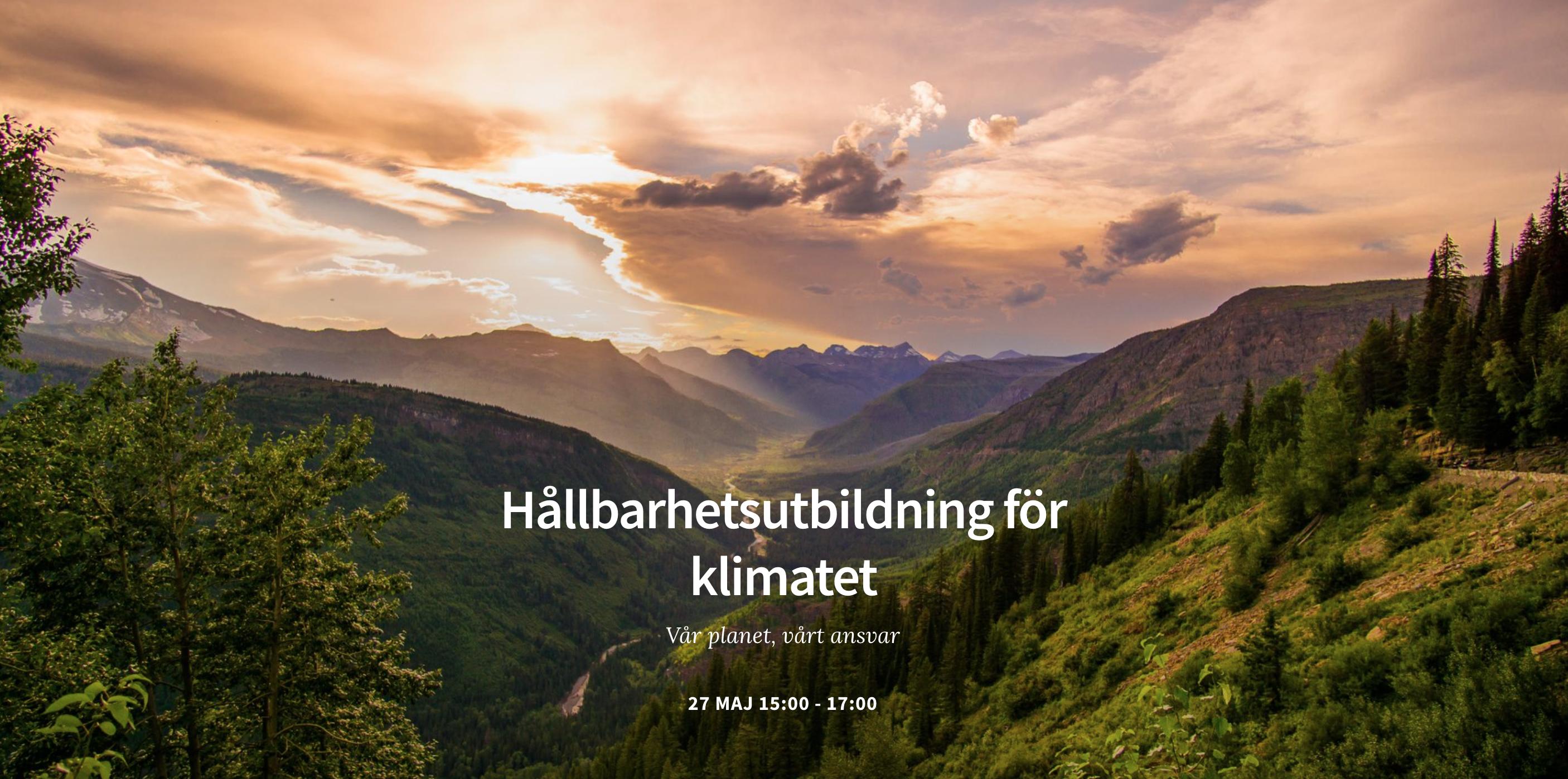 Climate First + Fotografiska den 27 maj